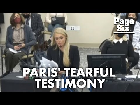 Paris Hilton cries while testifying about abuse at Provo Canyon School | Page Six Celebrity News