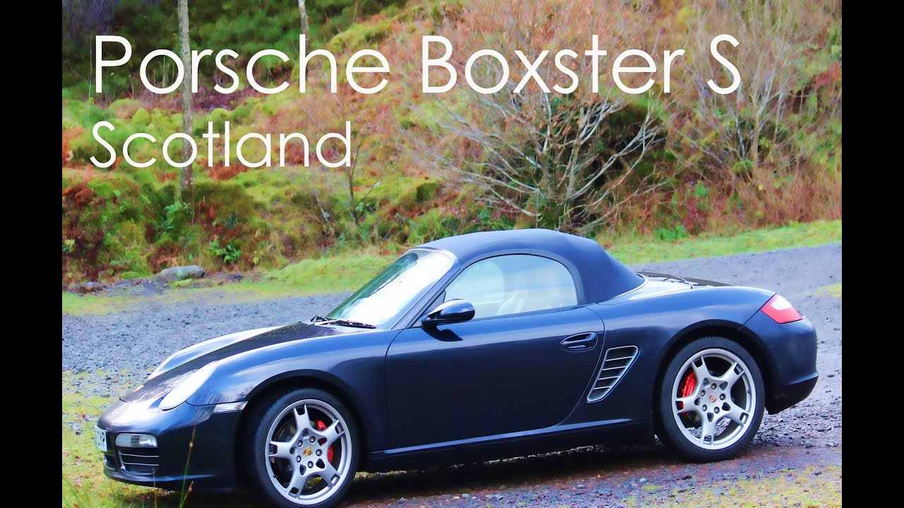 gopro hero 3 black porsche boxster s 987 driving in scotland youtube. Black Bedroom Furniture Sets. Home Design Ideas