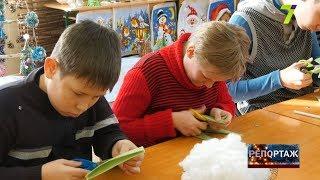 як зробити новорічну іграшку в школу