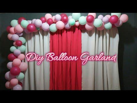 How To Make A Balloon Garland | Balloon Tutorial