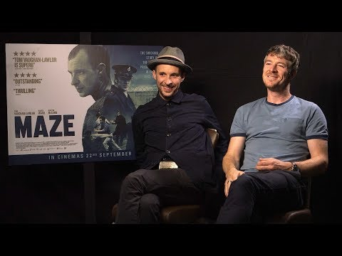 Tom Vaughan-Lawlor + Barry Ward chat about getting into the Maze + Avengers Infinity War