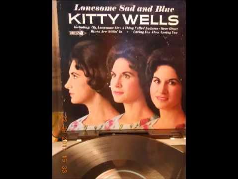 Kitty Wells  -  Leavin' Town Tonight