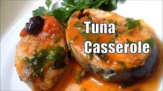 Tuna Casserole Fresh Fish Tuna Simple and Very Tasty Italian recipe #italianfood