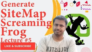 SEO Sitemap Generator  Tools | How to generate sitemap using the screaming frog