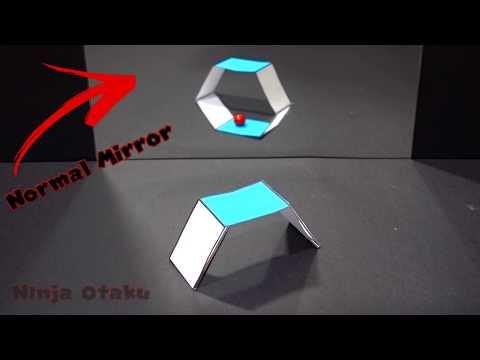 Awesome Optical Illusion (Impossible Ambiguous Anamorphic Mirror Illusion)