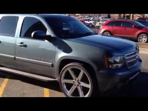 """22 Inch Tires >> Iroc 6 blade 26"""" wheels 08 Avalanche - YouTube"""