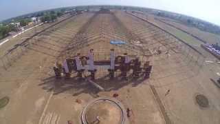 atmiya yuva mahotsav 2015 aerial view