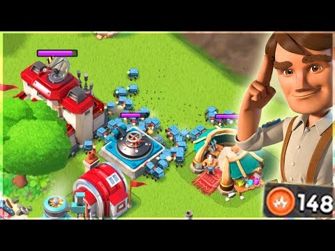 Boom Beach ONLY GBE Attacks!! Critter Madness Gameplay!