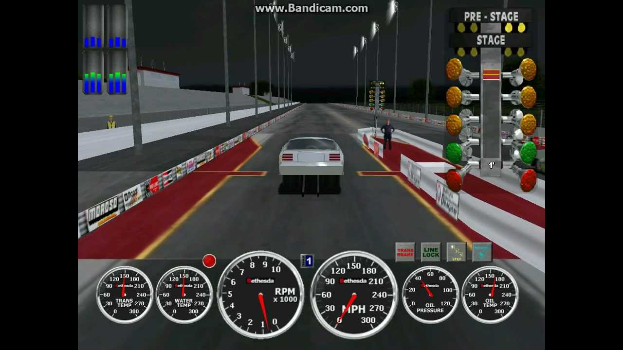 Sign And Drive >> IHRA DRAG RACING PC GAME OUTLAW ET 3.964 @ 349.85 - YouTube