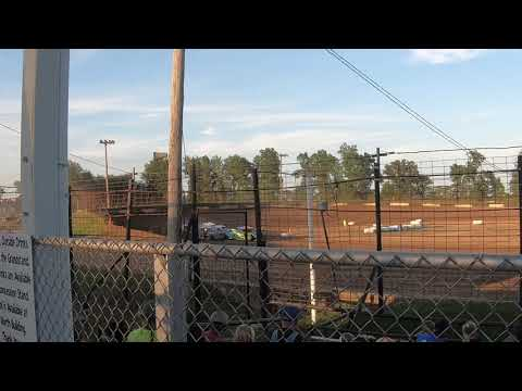 Heat Race at Fayette County Speedway August 10, 2019