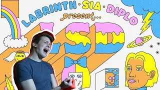 Lsd Labrinth, Sia Diplo Present... LSD FIRST REACTION FIRST LISTEN.mp3