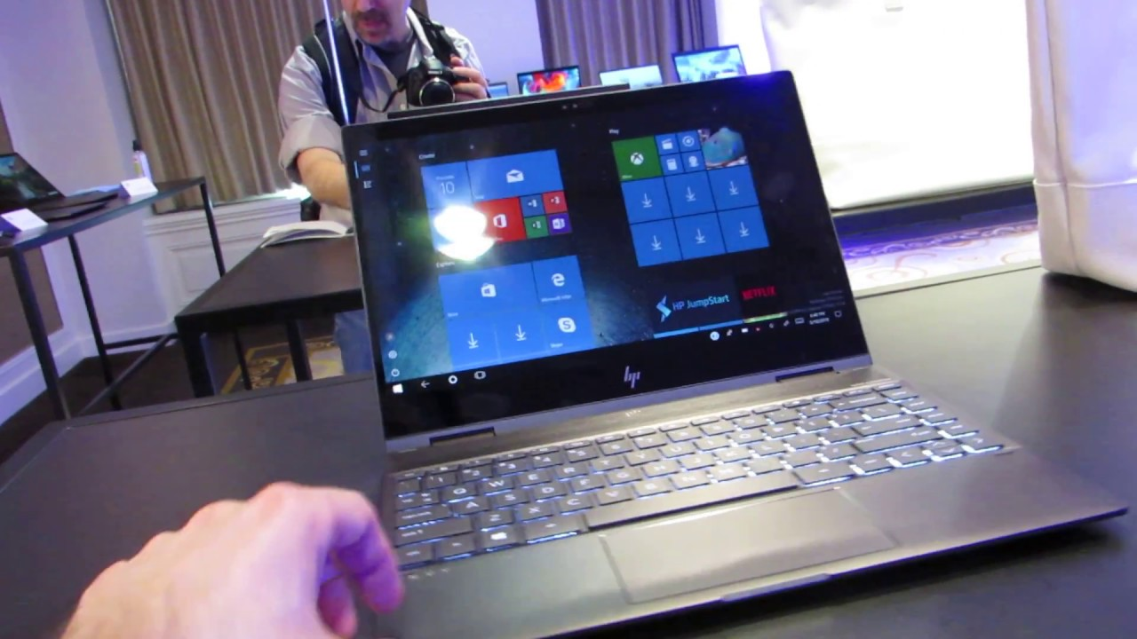 Hp Envy X360 13 Convertible Notebook With Amd Ryzen Mobile