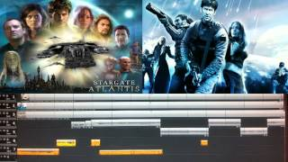 Stargate Atlantis best Theme Mix