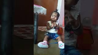 Raju arts pihu eating sweets and weeping