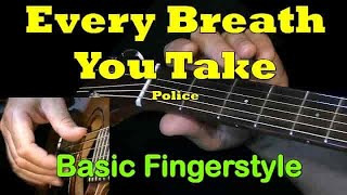 EVERY BREATH YOU TAKE: Guitar Chords + TAB by GuitarNick