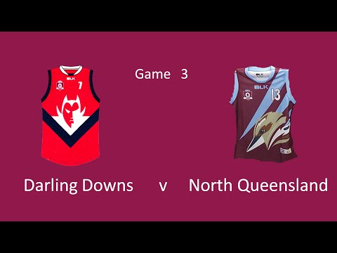 Under14s   Darling Downs v North Qld