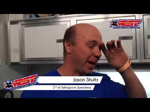 Patriot Sprint Tour Selinsgrove Speedway 6 18 16 Top 3