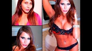 Порнозвёзды до и после макияжа