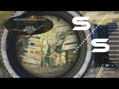 Sniper Ghost Warrior 3 - Capt. Ioseb Pogodin (Most Wanted) & The Takedown Recurve Bow |