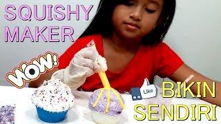 SQUISHY Maker 💖 Membuat SQUISHY Sendiri anti GAGAL ala Jessica 💖 SQUISHY Maker Kit Indonesia