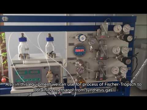 Получение метанола из синтез- газа