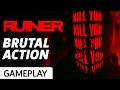 Brutal Action In Ruiner - Gameplay