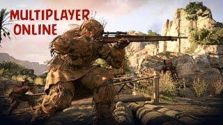 Sniper Elite 3 - Walkthrough Multiplayer Online Team Death Match (TDM)
