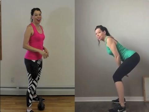 Before After With The Kettlebell Swing 2