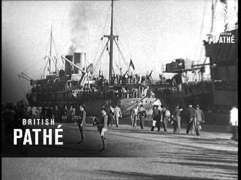 Refugees From France Arrive In Casablanca (1943)