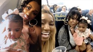 Porsha Williams Lets Daughter Pilar Sit With Marlo & Nene On Flight!