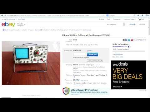 EEVblog #498 - How to get a $50 Oscilloscope on Ebay