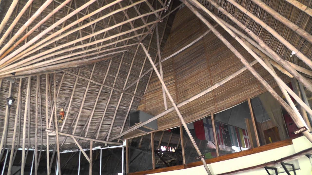 Elegant How To Make A Thatched Roof