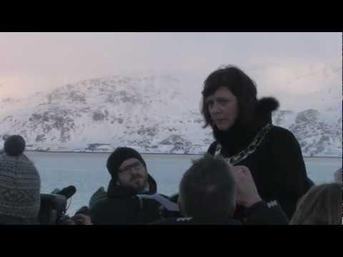Statoil vagte Veidnes med ilandføringa av olje ifra Skrugardfeltet