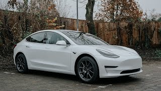 I bought a Tesla Model 3 - Delivery Day in the UK