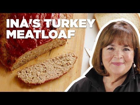 Barefoot Contessa Makes Turkey Meatloaf   Food Network