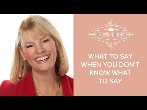 What To Say When You Don't Know What To Say | Bereavement