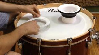 KickPort Bass Drum. Potencializador de Bumbo