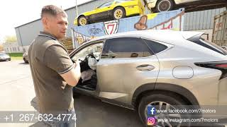 2016 Lexus NX200 , 2015 Lexus IS250 - Авто аукцион США copart, iaai. Авто на заказ от 7motors