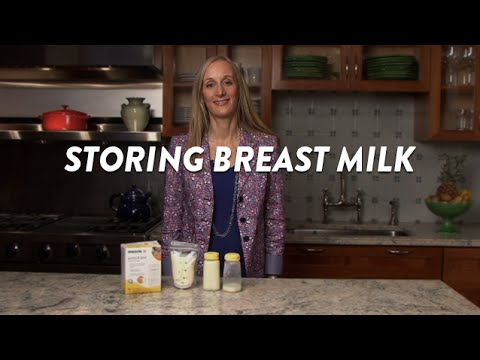 Storing Breast Milk | CloudMom