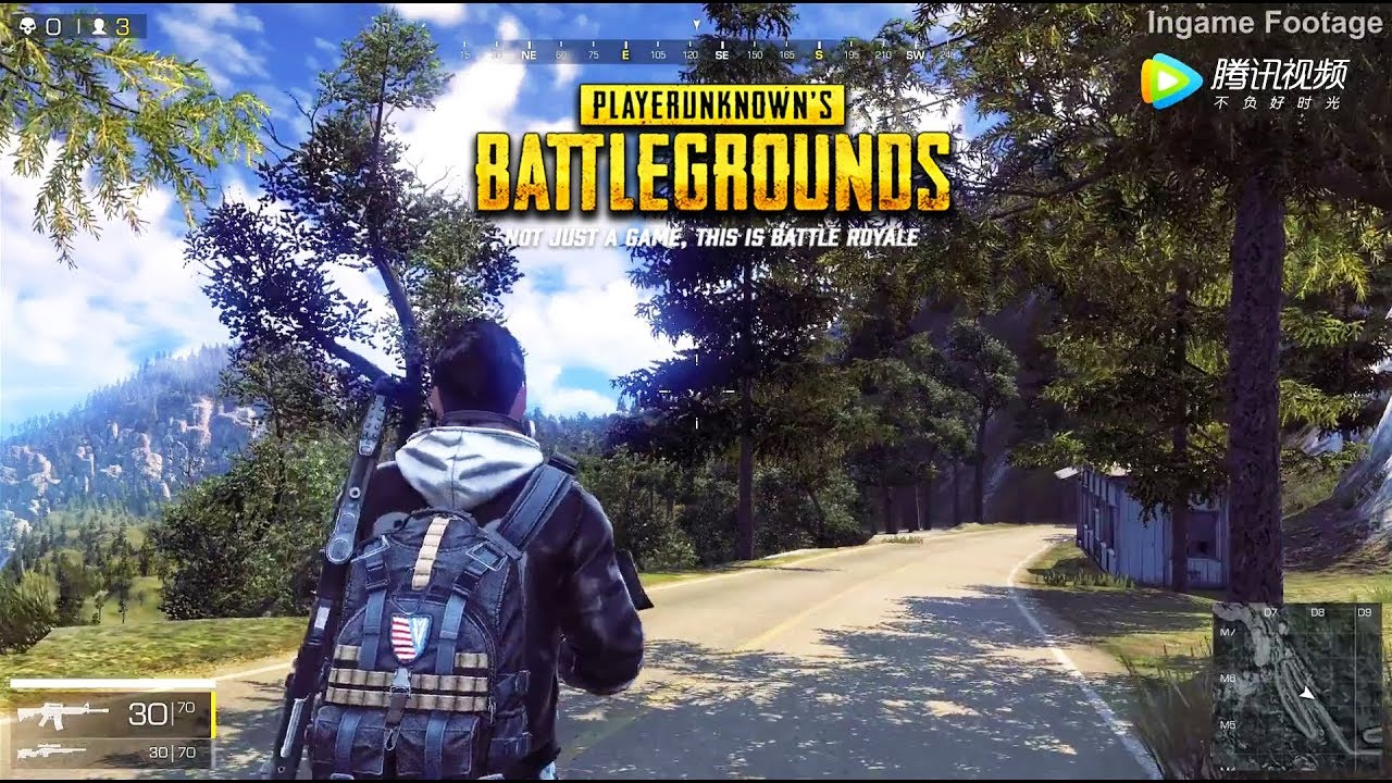 EUROPA NEW PUBG FOR PC BY TENCENT OMG AMAZING😻 can be Android and iOS  ,,,?????