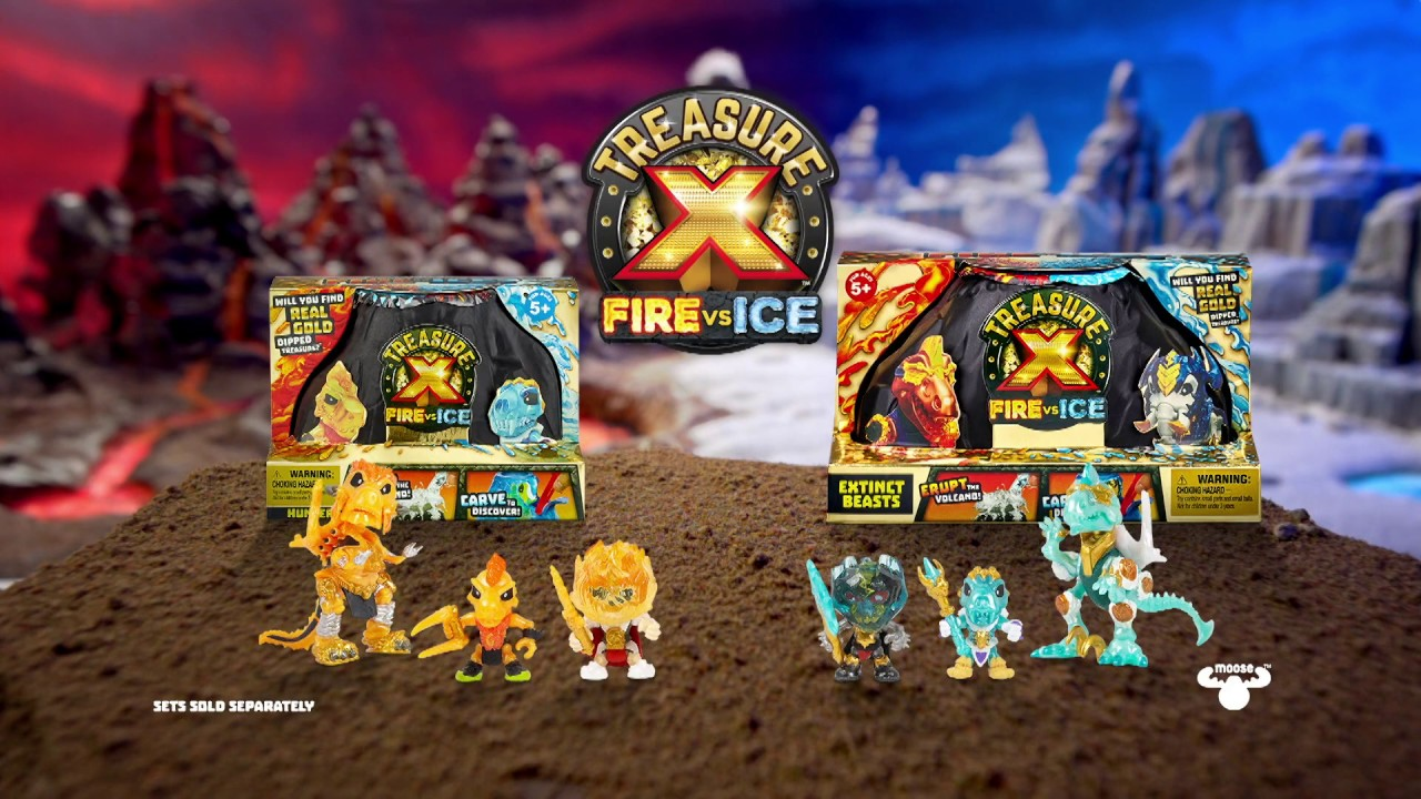 Treasure X Fire vs Ice Hunter Pack New Version