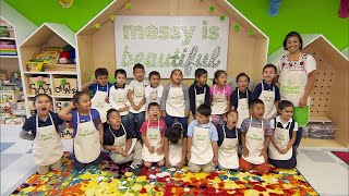 Kindergarten Students Are in Awe of Their Classroom Makeover