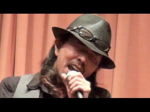 2015年9月20日 神奈川・横浜市 元・大事MANブラザーズバンドの立川俊之さんが動物愛護のシンポジウムに登場。1991年に発売された大ヒット曲「それ...
