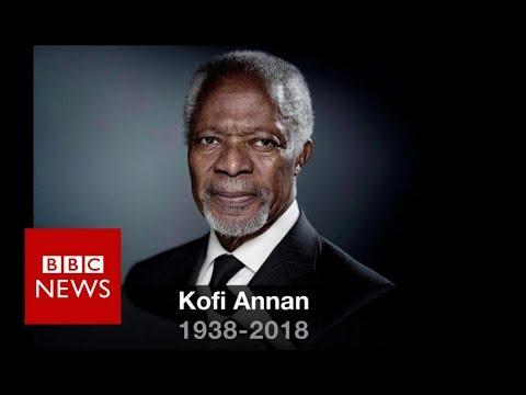 Kofi Annan: Former UN chief and Nobel Peace Prize laureate - BBC News