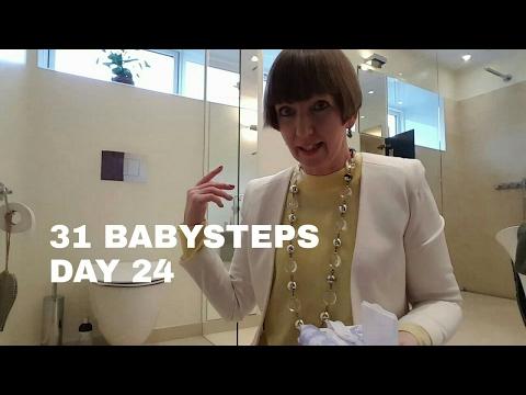 Flylady's 31 Babysteps Day 24 (Swish and Swipe, bathroom)