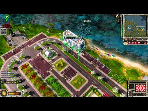 Pearl Harbour : Empire Mission 4 , Red Alert 3 , Epic War Mod , Coop Campaign , Gameplay , 1080p HD
