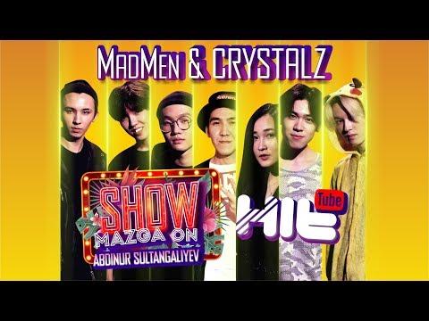 "Show Mazga On (Шоу МАЗГА Он) #5 ""MADMEN and ""ARI"" (CRYSTALZ)"