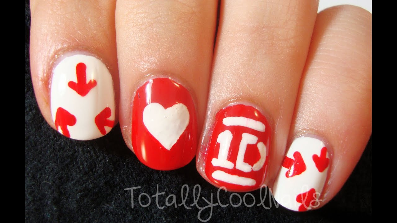 One Direction Logo Nail Art Youtube