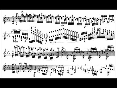 Niccolò Paganini - Caprice for Solo Violin, Op. 1 No. 4 (Sheet Music)
