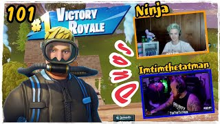 Ninja Duos Imtimthetatman - Wreck Raider Skin Fortnite Game Play